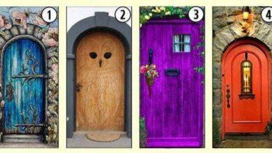 Foto de Teste: Que porta você acha que leva à felicidade: 1, 2, 3 ou 4?