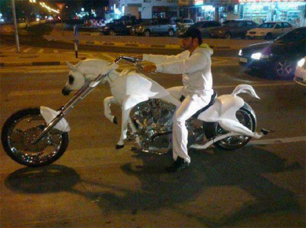 Motocicletas estranhas