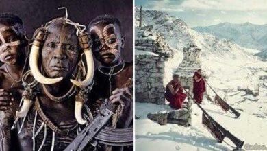 20 Fotos impressionantes das tribos mais fascinantes do mundo