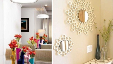 20 Ideias para usar canos de PVC na decoração