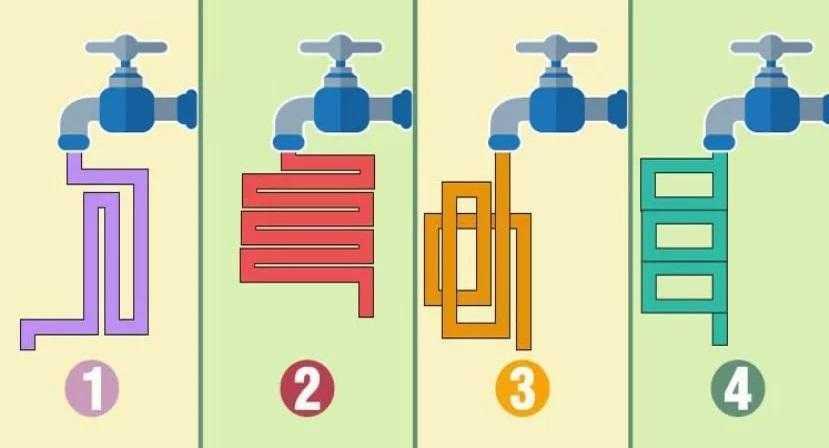 Qual destas torneiras tem o fluxo de água mais rápido?