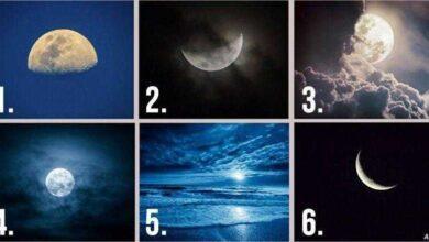 Escolha uma lua e ela revelará seus pensamentos escondidos