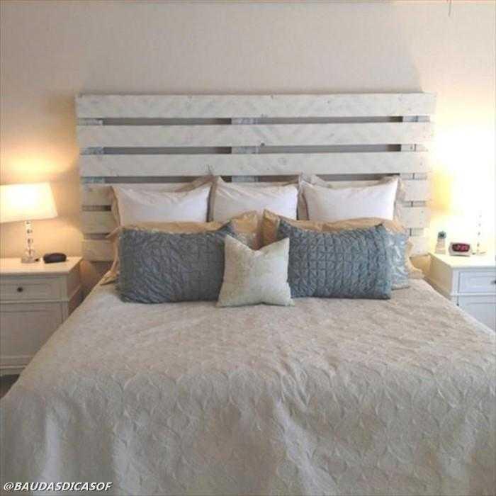 16 Ideias belíssimas com paletes para decorar o quarto 3