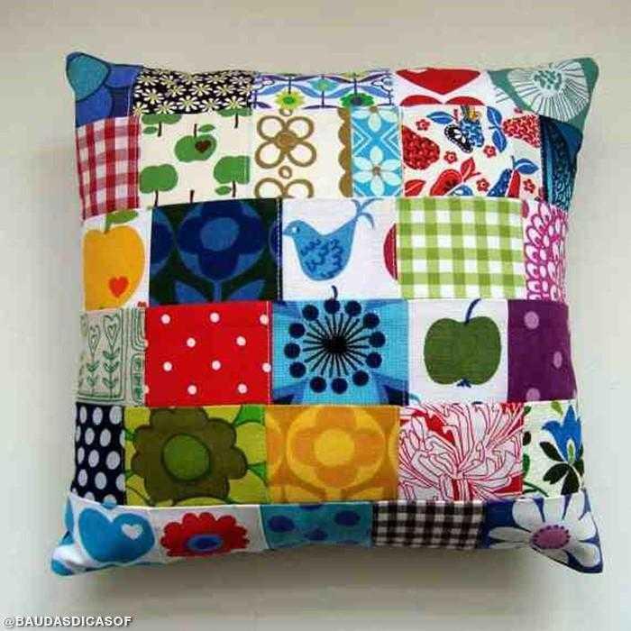 17 Ideias com retalhos de tecidos | Baú das DICAS