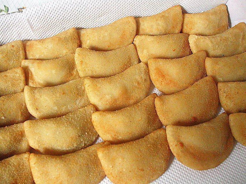 Massa para rissoles e bolinho de queijo