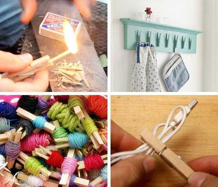 22 usos criativos para Prendedores de Roupa d