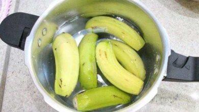 7 incríveis benefícios da banana verde cozida para a sua saúde