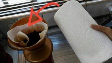 Foto de NUNCA MAIS COMPRO FILTRO PARA CAFÉ – Uso papel toalha 5x mais barato