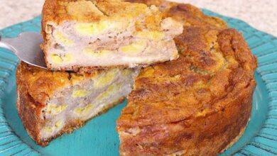 Foto de Torta de banana cremosa mais fácil do mundo