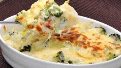 Foto de Batata com brócolis ao forno deliciosa