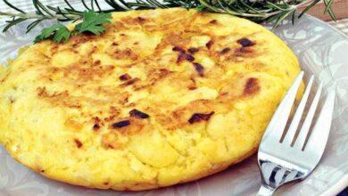 Foto de Receita de omelete de batata frita