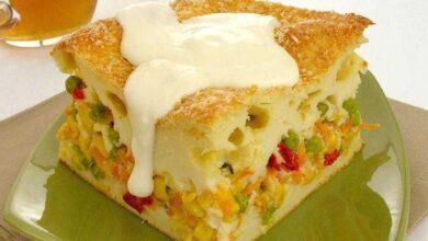 Photo of Torta de legumes com requeijão maravilhosa