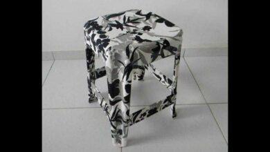 Aprenda a revestir móveis de plástico com tecidos