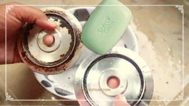 Foto de Como limpar o fogão usando sabonete
