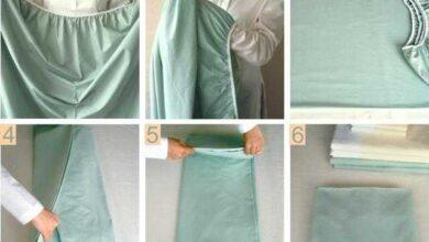 Excelente truque para dobrar o lençol de elástico