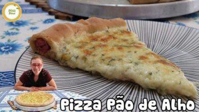 Photo of Pizza de Pão de Alho Caseira