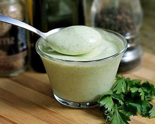 Receita de maionese verde