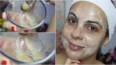 Limpeza de pele profunda clareadora e anti-idade caseira