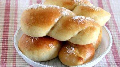 pão doce de leite condensado