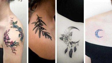 100 Ideias de tatuagens femininas no ombro
