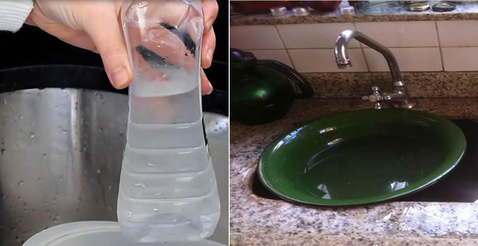 Vinagre Branco Com Água