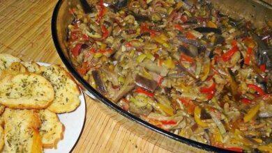 Foto de Antepasto de berinjela no forno (fica extremamente delicioso)