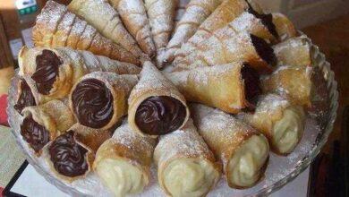 Photo of Canudinho de chocolate e baunilha