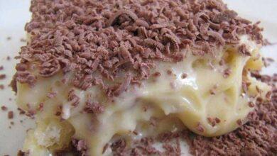 Foto de Cobertura de chocolate com leite condensado para bolos