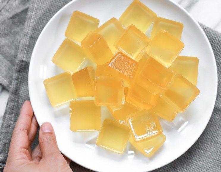 Gelatina de vinagre de maçã