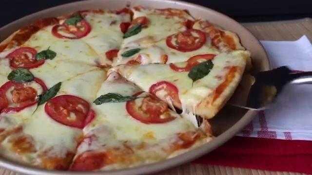 Massa de Pizza com Iogurte d