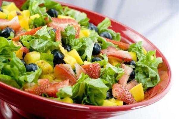 Salada tropical nordestina