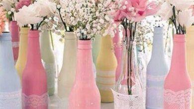 Foto de 20 Ideias com garrafas de vidro para decorar