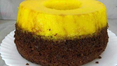 bolo de chocolate com quindim cremoso D