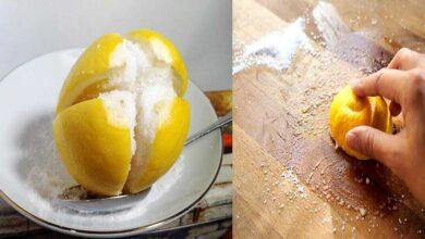 Limão com sal - 2 grandes aliados na limpeza doméstica