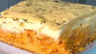Foto de Torta de frango de liquidificador fácil e pratica