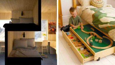 Foto de 20 Ideias incríveis que podem resolver o problema de falta de espaço em casa