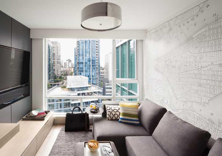 Coloque toda a sua paixão na decoração da sala de TV.