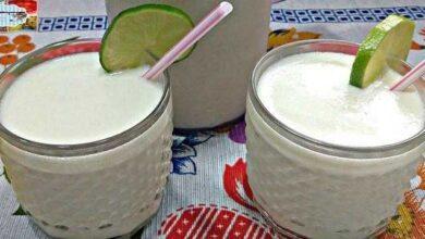 Foto de Caipirinha cremosa de leite condensado