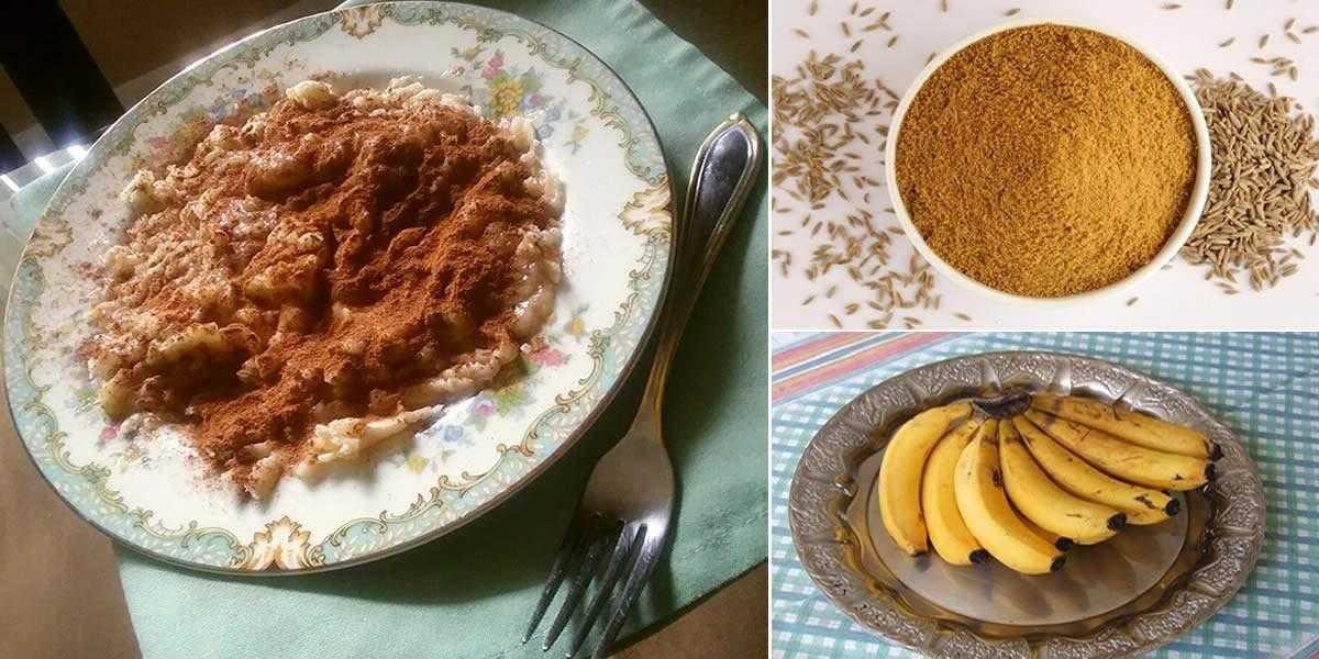 Cominho com banana: remédio natural para tratar insônia