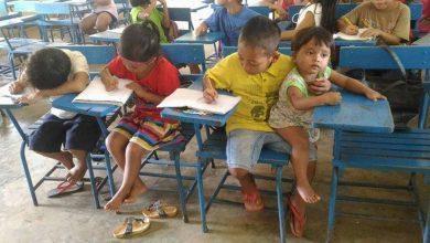 Photo of Para não perder aula, menino de 7 anos leva irmão mais novo à escola