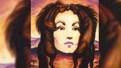 Qual figura você enxergou primeiro, oscavalosou o rosto da mulher?
