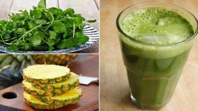 Suco de abacaxi com agrião: previne e trata anemia naturalmente