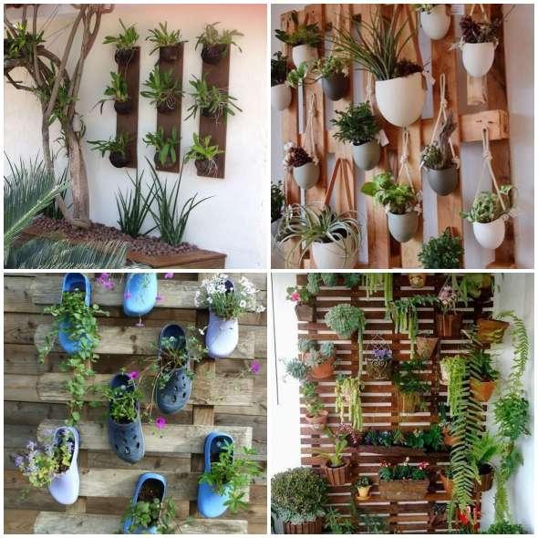 Jardins verticais lindos para inspiração