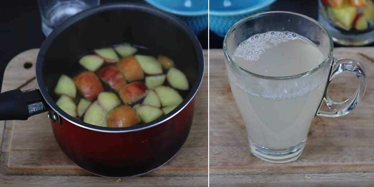aumenta a imunidade e limpa as art%C3%A9rias Chá de maçã com alho: aumenta a imunidade e limpa as artérias