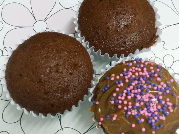 Cupcakes de Chocolate Feito no Liquidificador