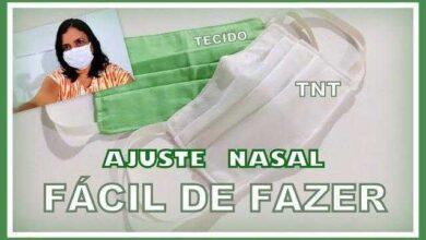 Foto de Mascara de Proteção de TNT Com Ajuste