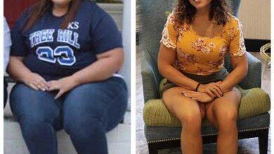 Abandonada pelo noivo, mulher emagrece 77 kg e está linda