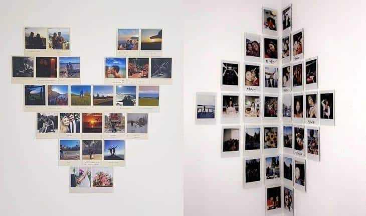 decoração com fotos