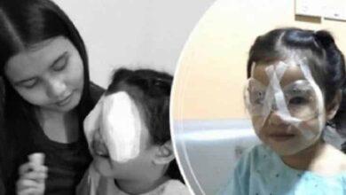 Menina de quatro anos perde a visão por uso excessivo de celular; o que aconteceu depois comoveu o mundo
