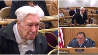 Foto de Juiz perdoa multa de trânsito de idoso de 96 anos que levava o filho de 63 com câncer ao médico